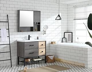 实木浴室柜-826