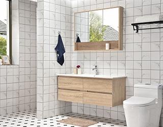 实木浴室柜-1007