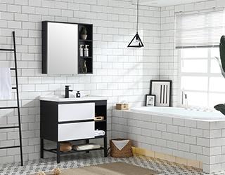 实木浴室柜-1816