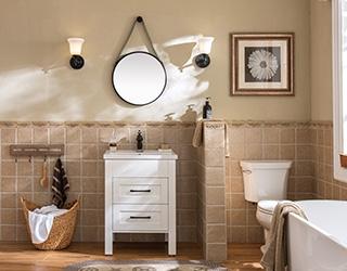 实木浴室柜-2008