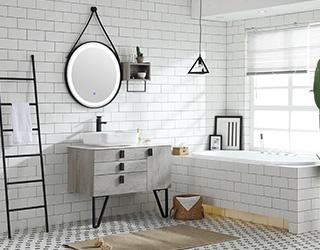 实木浴室柜-M1809