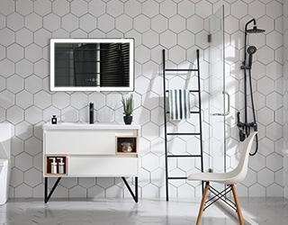 实木浴室柜823
